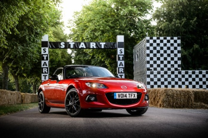 Mazda MX-5 25th Anniversary edition Photograph: James Lipman +44 7803 885275