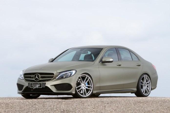 Mercedes-Benz C180 AMG Line 2014 by Inden Design