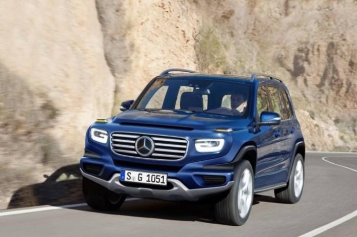 Mercedes-G-City baby g-class glb