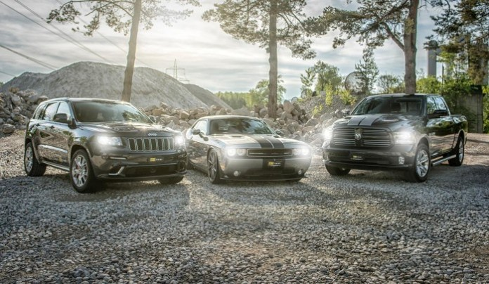 O.CT Tuning tuning Jeep Grand Cherokee SRT8, Dodge Challenger SRT8 and Dodge Ram 1500