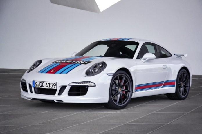 Porsche 911 S Martini Racing Edition (2)