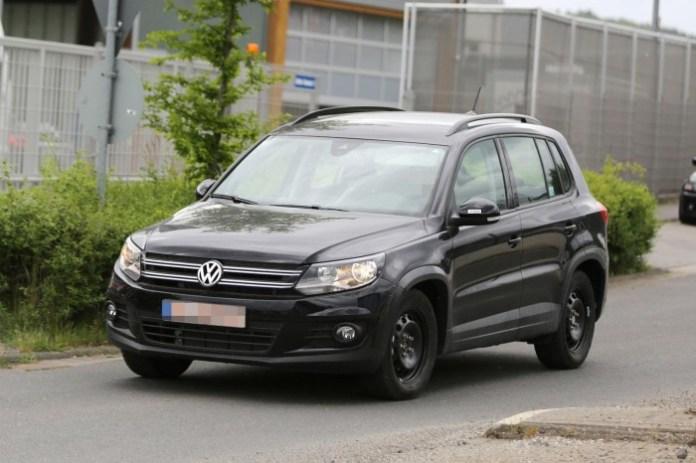 Volkswagen Tiguan 2015 mule spy photo