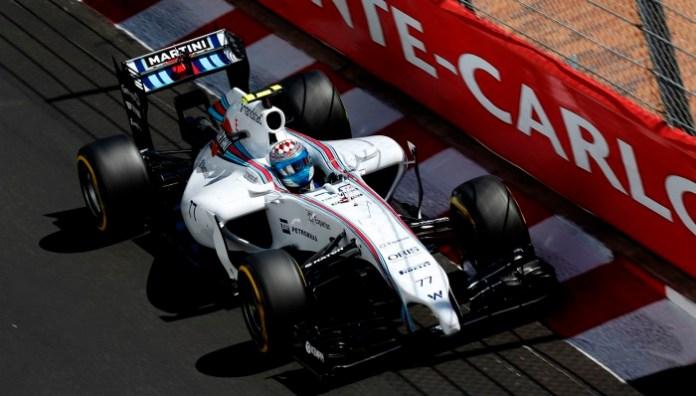 Monte Carlo, Monaco. Saturday 24 May 2014. Valterri Bottas, Williams FW36 Mercedes. Photo: Alastair Staley/Williams F1. ref: Digital Image _R6T9945