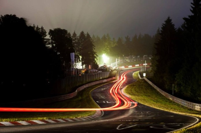 nurburgring night lights