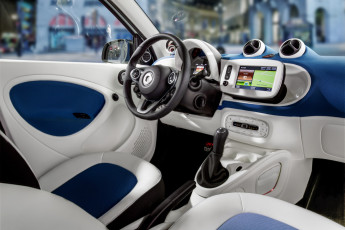 Smart ForTwo and ForFour 2015