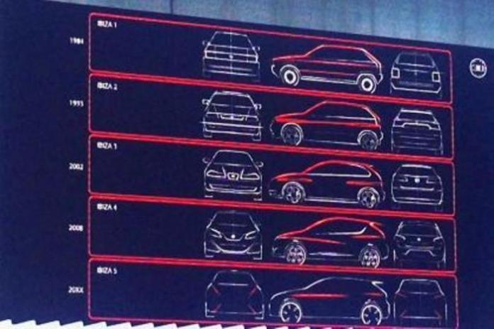 2016 Seat Ibiza teaser sketch (2)