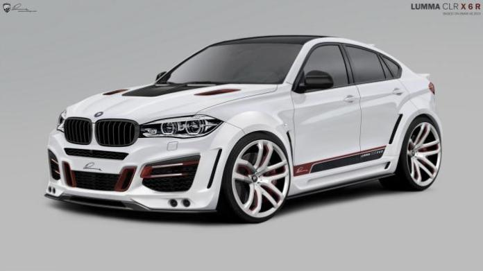 BMW X6 2015 by Lumma Design