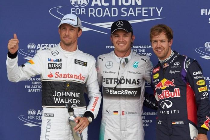 Button-Rosberg-Vettel