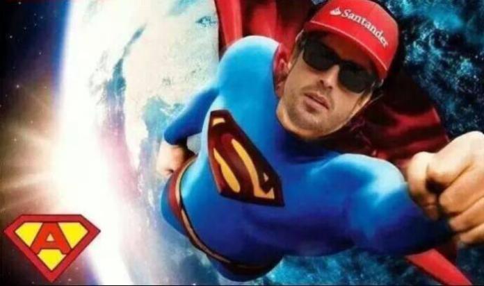 Fernando Alonso - Superman
