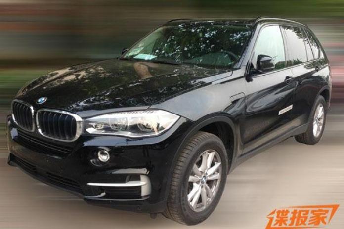 Production-ready BMW X5 eDrive spy photo (1)
