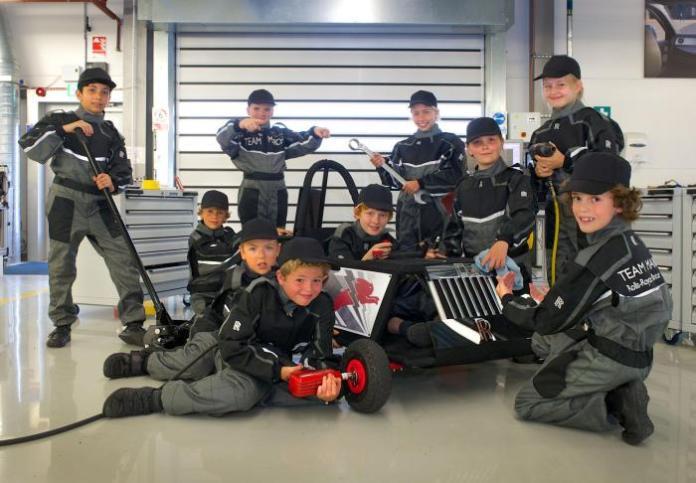 Rolls-Royce EV for the Greenpower IET Formula Goblin race (2)