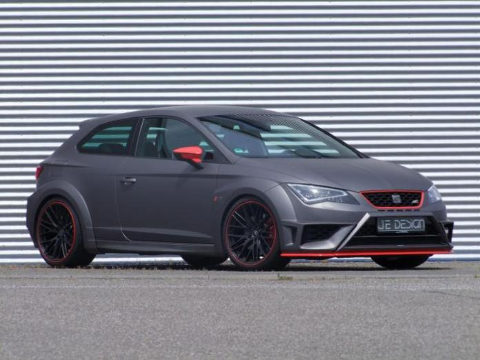 Seat Leon Cupra wide bodykit by JE Design 2