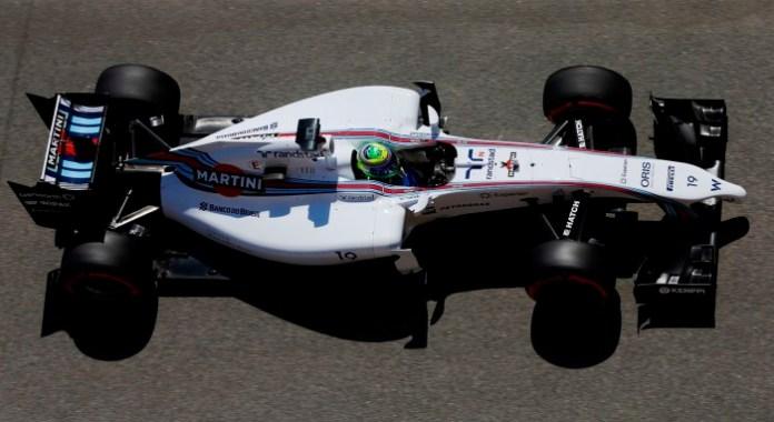 Circuit de Catalunya, Barcelona, Spain. Friday 9 May 2014. Felipe Massa, Williams FW36 Mercedes. Photo: Charles Coates/Williams F1. ref: Digital Image _J5R9573