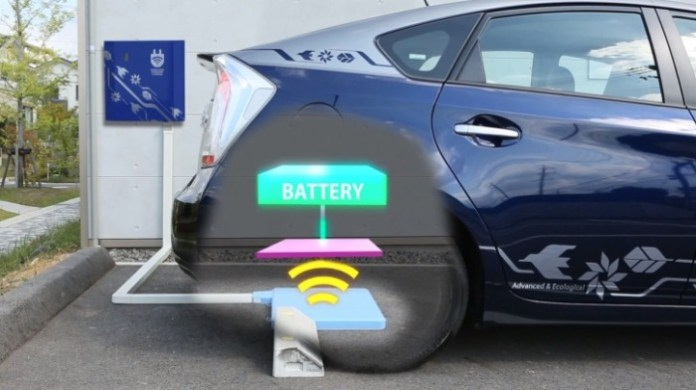 toyota wireless charging