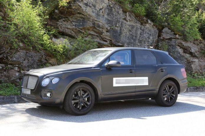 Bentley crossover 2016 Spy Photos