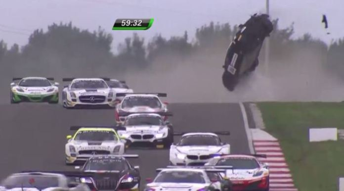 BlancPain GT Crash
