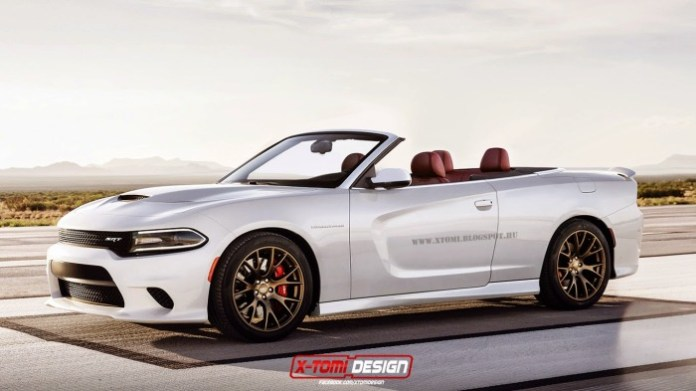 Dodge Charger SRT Hellcat Convertible [Rendering]