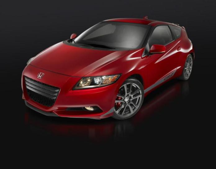 Honda CR-Z with supercharger kit (1)