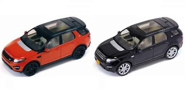 Land Rover Discovery Sport scale models