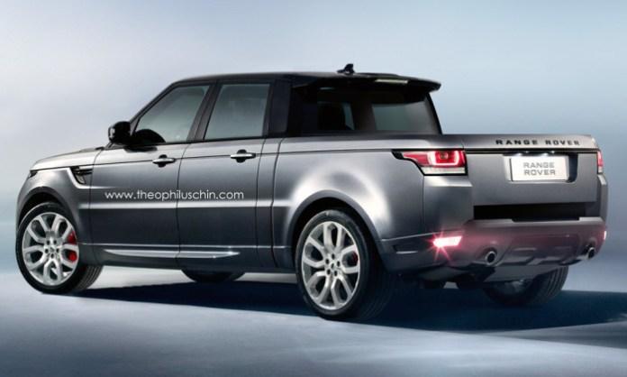 Range Rover Sport Pickup Truck Rendering (3)