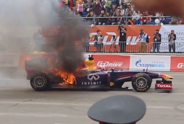 Red Bull RB7 Flames