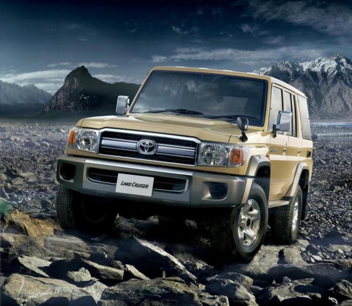 Toyota Land Cruiser 70 5