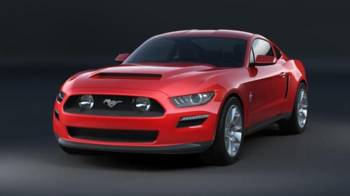 2015 Ford Mustang Design mock up 1
