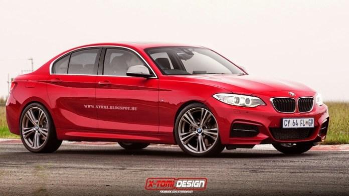 2016 BMW 1 Series Sedan rendering