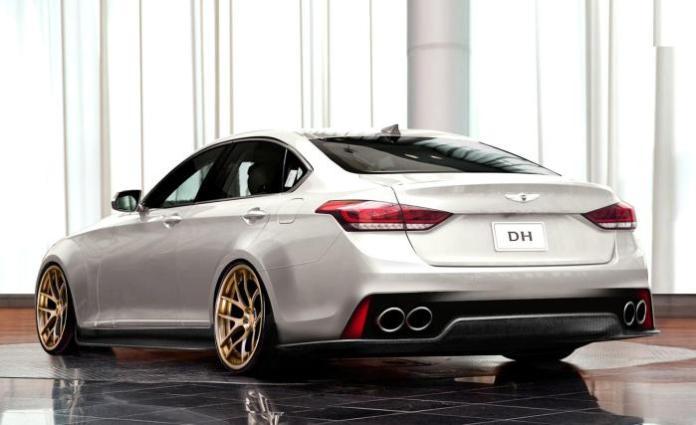2015 Hyundai Genesis by ARK Performance