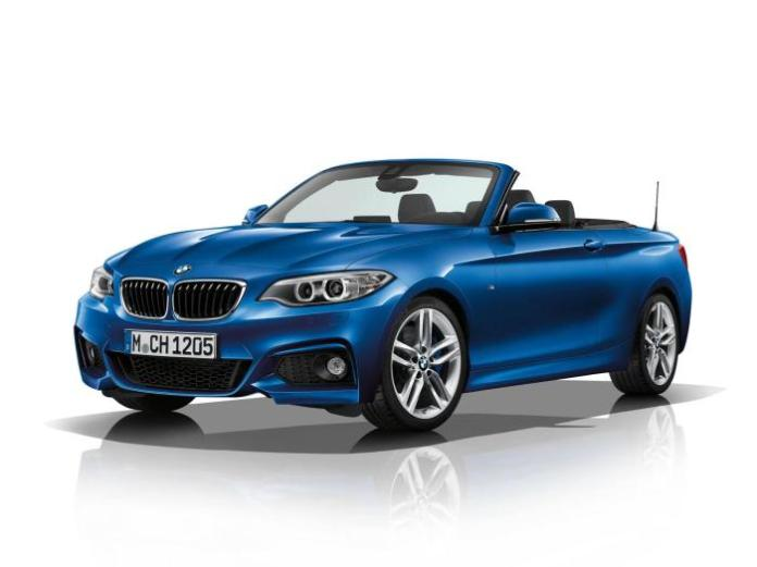 BMW 2-Series Convertible with the M Sport package 1