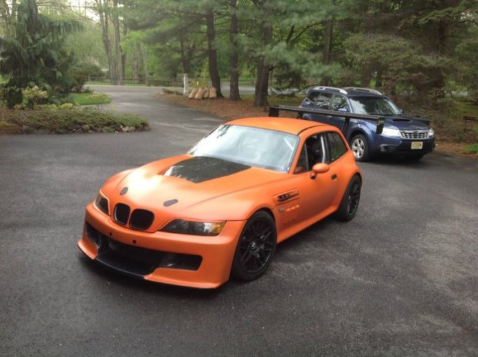 BMW Z3 M Coupe with v8 engine