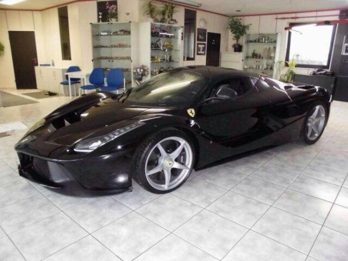 Black LaFerrari for sale in Dubai (1)