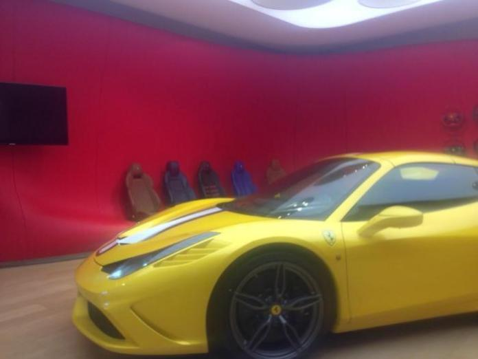 Ferrari 458 Speciale Spider spy photo (1)