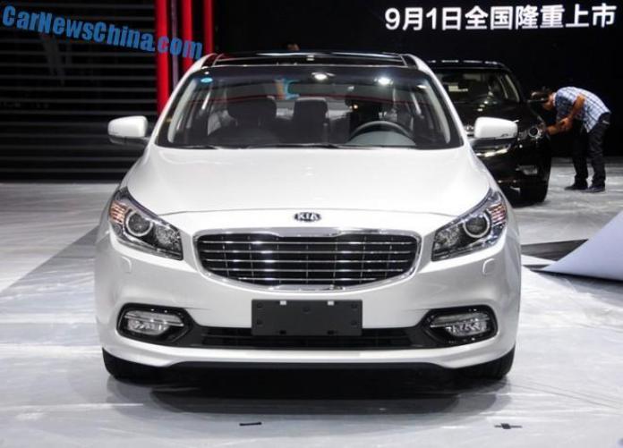 Kia K4 at Chengdu Motor Show (2)