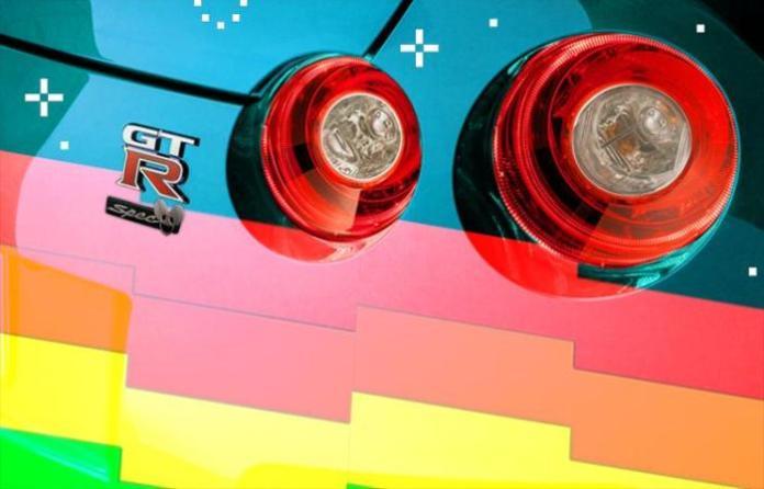Nyan Cat Nissan GT-R 2