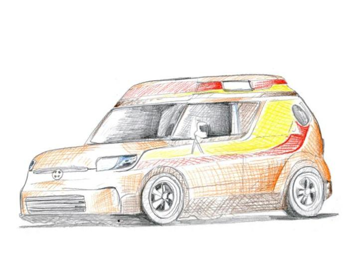 Scion x Riley Hawk Skate Tour xB for SEMA