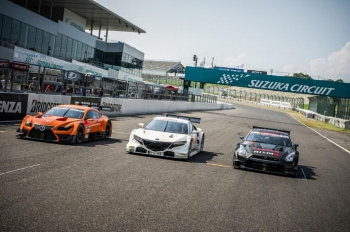 Super-GT-2014-GT500-spec-Honda-Lexus-Nissan-Suzuka-Circuit-003-1025x682