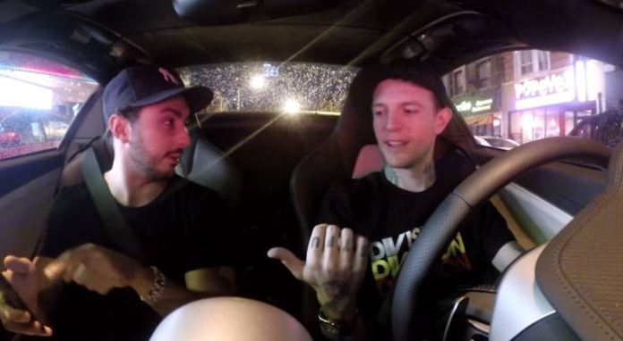deadmau5 drives for UberX