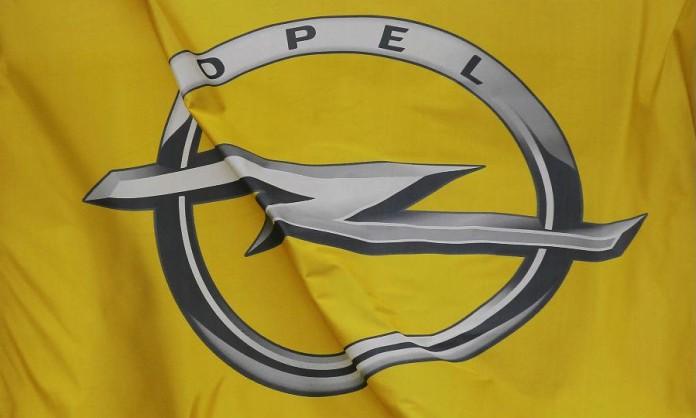 opel logo plant