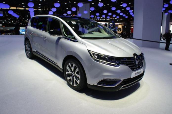 2015 Renault Espace live at Paris Motor Show 1
