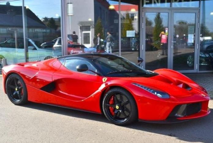 LaFerrari for sale in Luxembourg