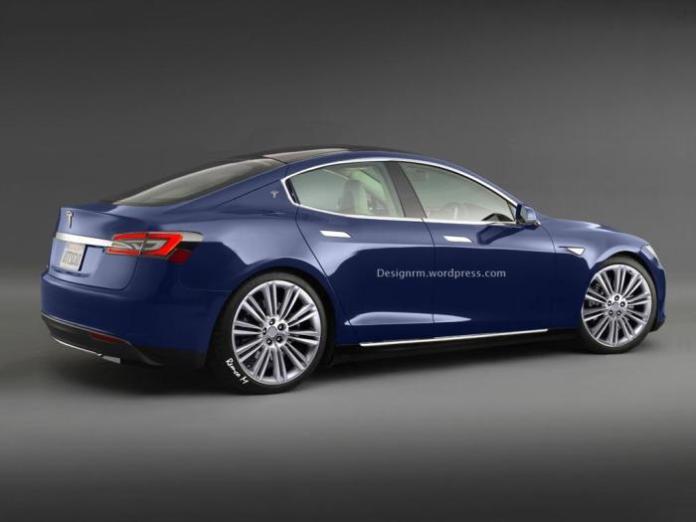 Tesla Model III render / RM Design