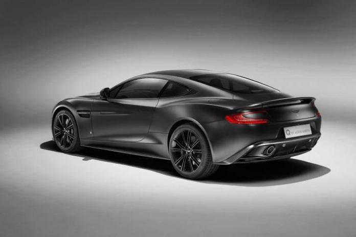 Aston Martin Satin Jet Black Vanquish Coupe (2)