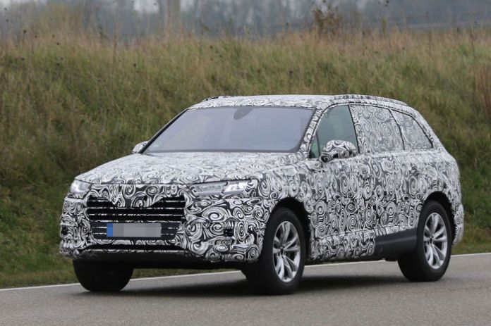 Audi Q7 2015 Spy Photos (1)