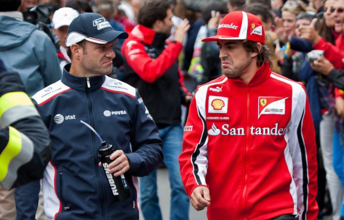 Barrichello - Alonso