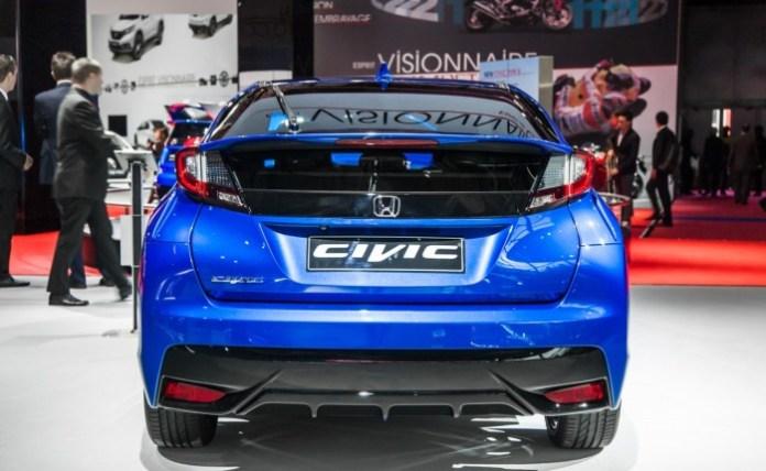 Honda Civic 2015 Live in Paris