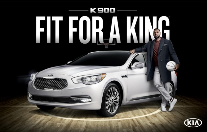 Kia-K900-LeBron-James