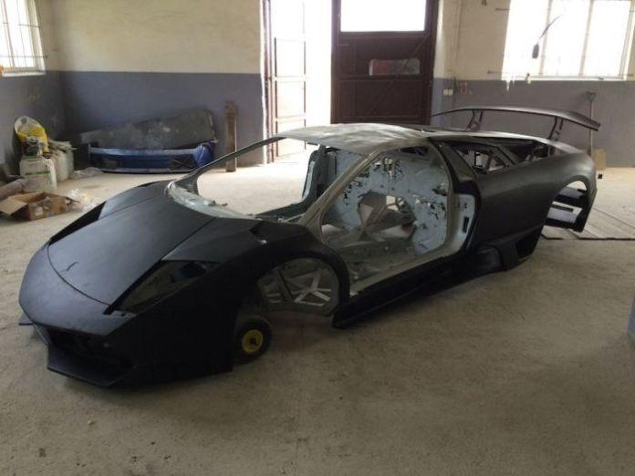 Lamborghini Murcielago LP670 SV chassis for sale