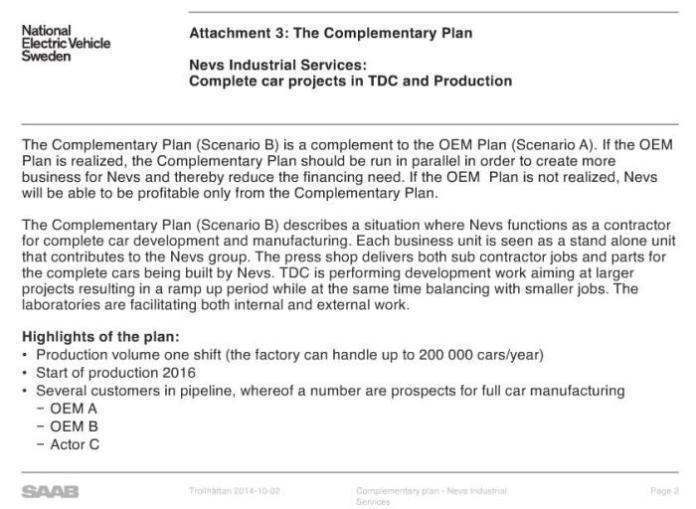 Saab NEVS reorganization plan (2)
