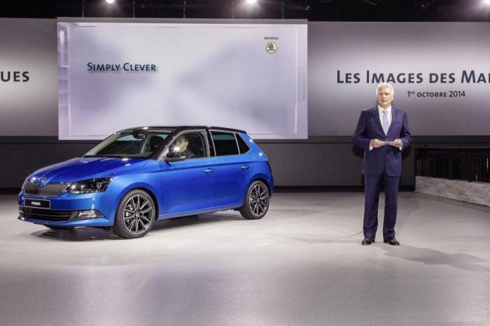 Skoda Fabia live in Paris 2014 (1)